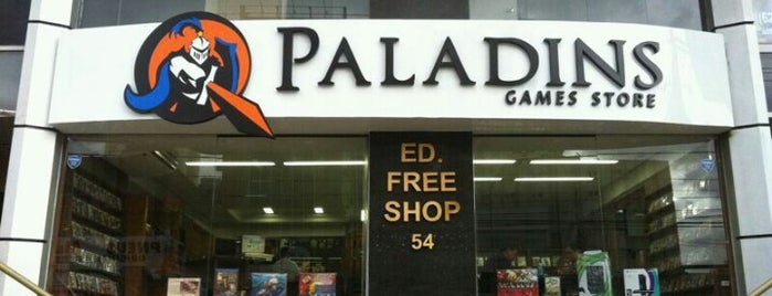 Paladins Games Store is one of Quero conhecer.