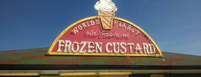 The World's Finest Frozen Custard is one of สถานที่ที่ Will ถูกใจ.