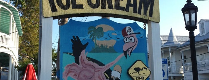Flamingo Crossing Ice Cream is one of Key West.