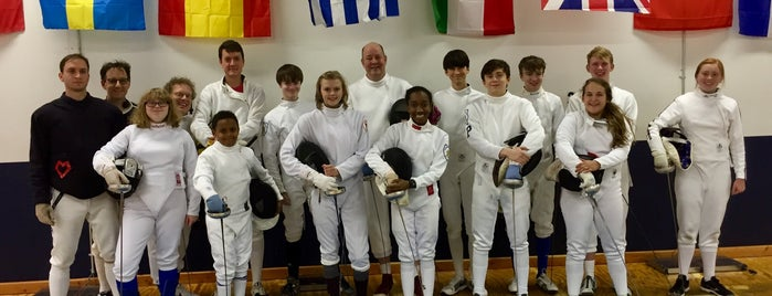 Birmingham Fencing Club is one of Places to Get Your Game On.