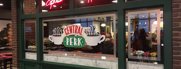 Central Perk Cafe is one of SFLA.