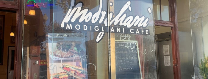 Modigliani Cafe is one of My spots.