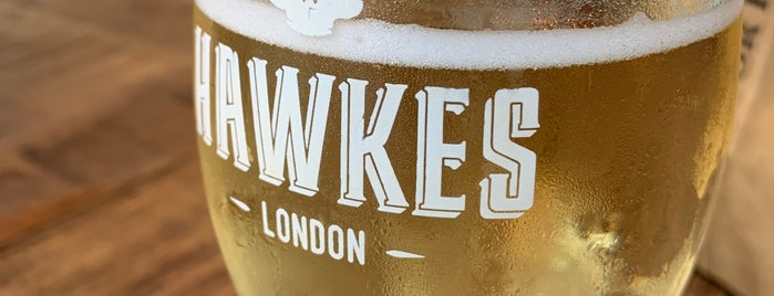 Hawkes Cidery & Taproom is one of London's Best for Beer.