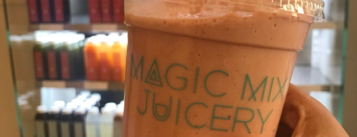 Magic Mix Juicery is one of Juice Places So Rad You'll Forget They're Healthy.