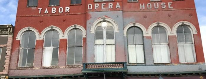Tabor Opera House is one of Mayor : понравившиеся места.