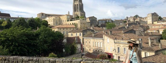 Clocher de l'Église Monolithe is one of Saint-Emilion.