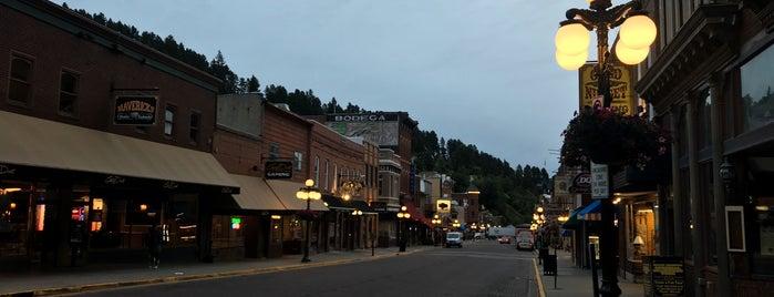 Deadwood, SD is one of Orte, die Melissa gefallen.
