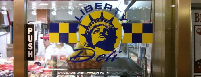 Liberty Deli is one of Ashley'in Beğendiği Mekanlar.