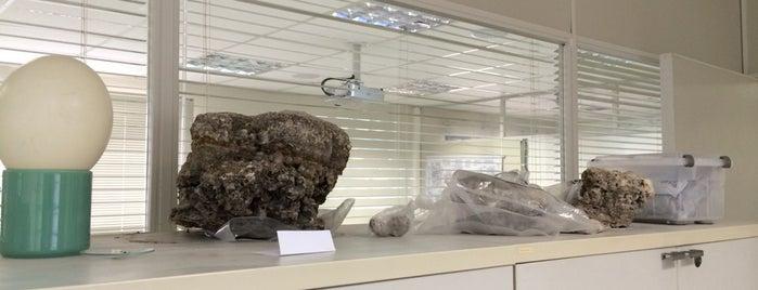 Laboratório de Análise de Minerais e Rochas (LAMIR) is one of UFPR - Centro Politécnico.