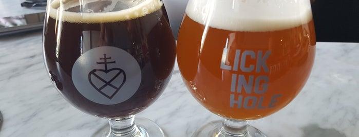 Lickinghole Creek Craft Brewery is one of Posti salvati di Rachel.