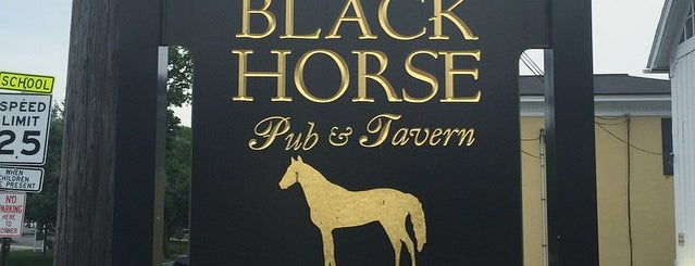 The Black Horse Tavern is one of Gespeicherte Orte von Lizzie.