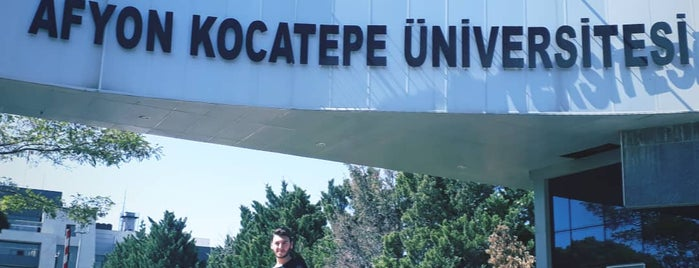 Afyon Kocatepe Üniversitesi is one of 🇹🇷さんのお気に入りスポット.