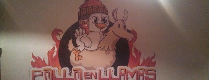 Pollo en Llamas is one of Para comer...