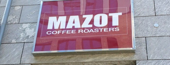 MAZOT Coffee Roasters is one of Jeremy's Saved Places.
