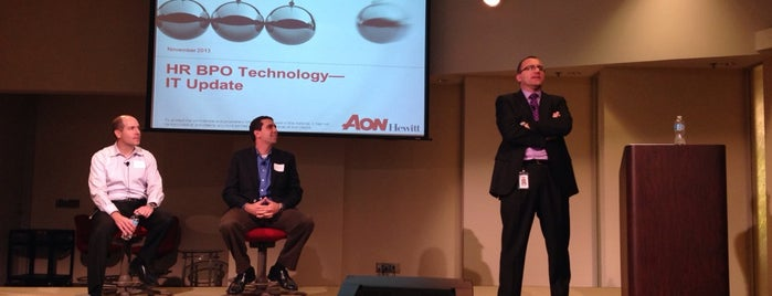 Aon Hewitt is one of Lugares favoritos de Helaine.