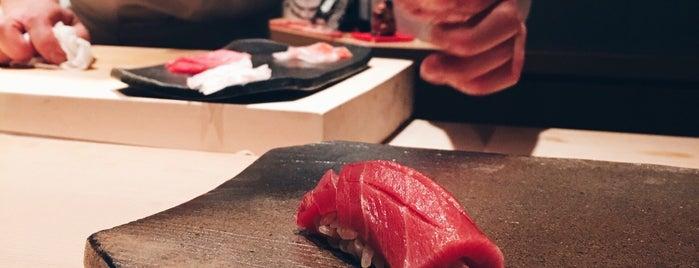 Sushi Kokoro is one of Traveling Tokyo.