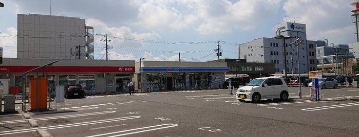 JPローソン 万代シティ郵便局店 is one of Tempat yang Disukai Shohei.