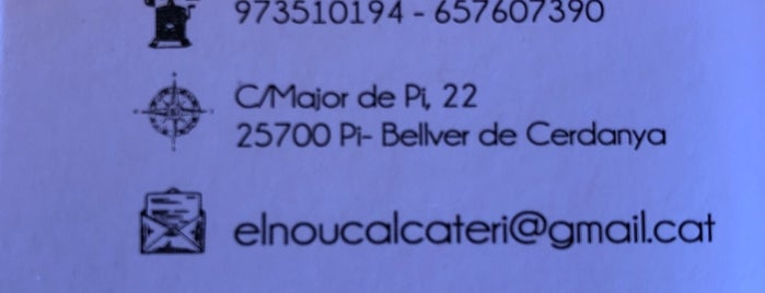 Cal Caterí is one of Restaurants.