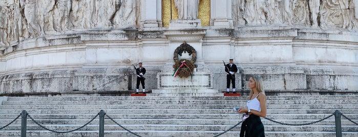 Piazza Venezia is one of ROME - ITALY.