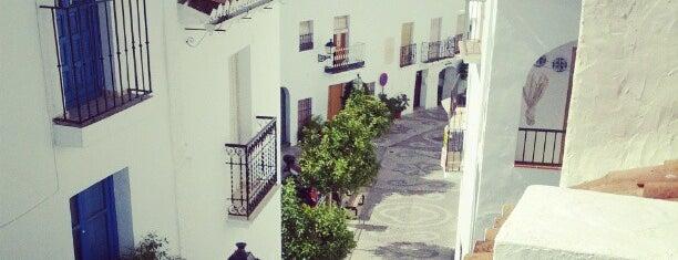 Frigiliana is one of Malaga, Spain.