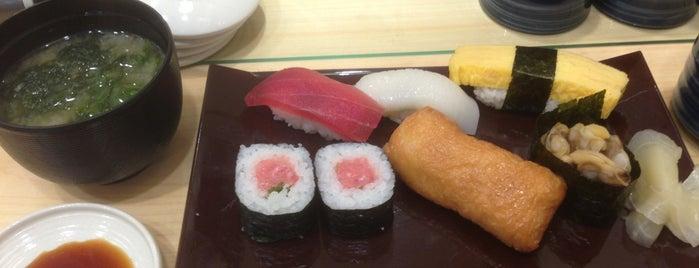 魚力寿司 is one of K.
