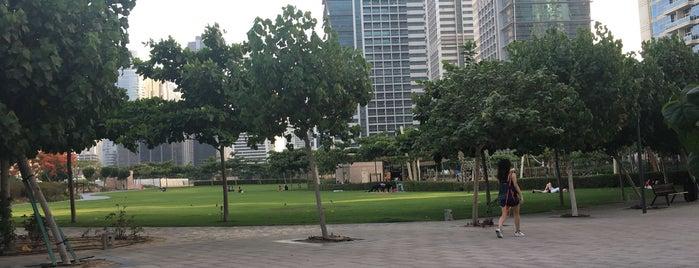 Jumeirah Lake Towers Park is one of Posti salvati di JOY.