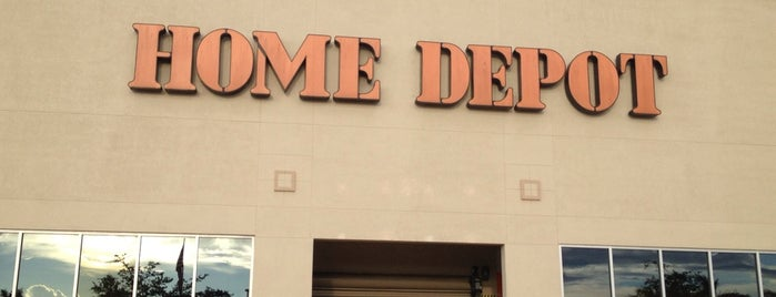 The Home Depot is one of Beau's Liked Places.