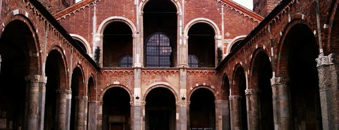 Basilica di Sant'Ambrogio is one of Best places in Milan.