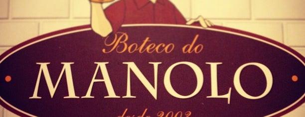Boteco do Manolo is one of Botecos cariocas.