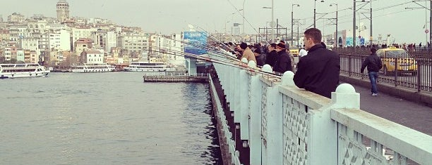 Galata Köprüsü is one of istanbul gezi listesi.