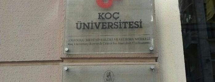 Koç Üniversitesi Anadolu Medeniyetleri Araştırma Merkezi is one of สถานที่ที่ Bibi Button ถูกใจ.