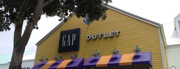 Gap Factory Store is one of Kris : понравившиеся места.