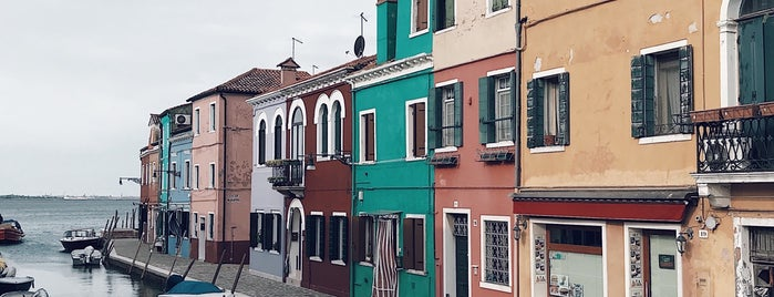 Burano Island is one of Venice.