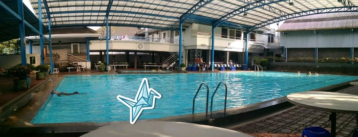 Abadi Swimming Pool is one of Rest & Relax @Bandung.