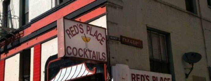 Red's Place is one of Possible Santa Con Bars.