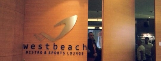 West Beach Bistro & Sports Lounge is one of Gespeicherte Orte von Dmitry.