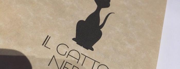 il gatto nero is one of Tempat yang Disimpan mahsa.