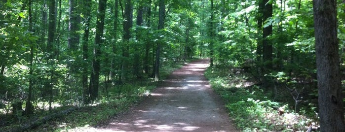 Kennesaw Mountain Trails - Burnt Hickory is one of สถานที่ที่ Louis ถูกใจ.