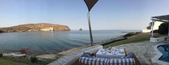 Melian Boutique Hotel & Spa is one of Milos.