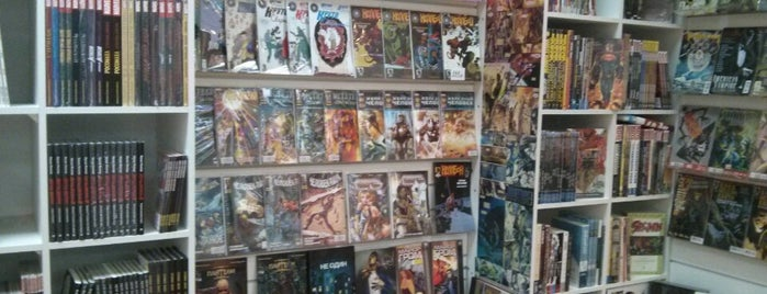 KARANDASH Comic Store is one of Favorite places.