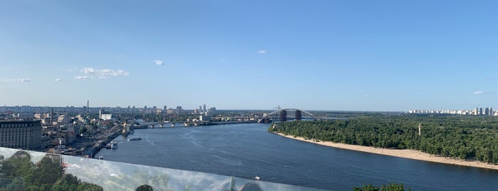Пішохідно-Велосипедний Міст is one of Kiew.