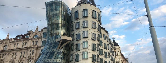 Dancing House Hotel is one of Prag.