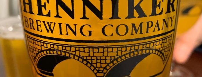 Henniker Brewing Company is one of NH.