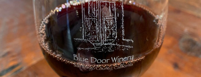 Blue Door Winery Tasting Room is one of Food.