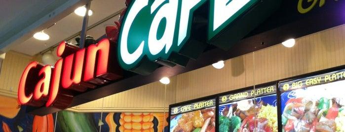 Cajun Cafe Grill is one of Lieux qui ont plu à Jason.