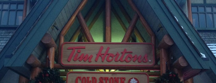 Tim Hortons / Coldstone Creamery is one of Jasper & Banff List.