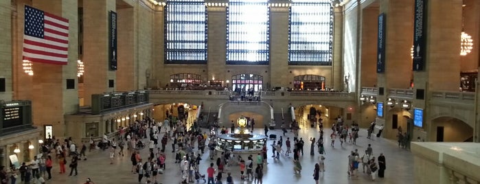 Grand Central Terminal is one of MoMA Landmarks.