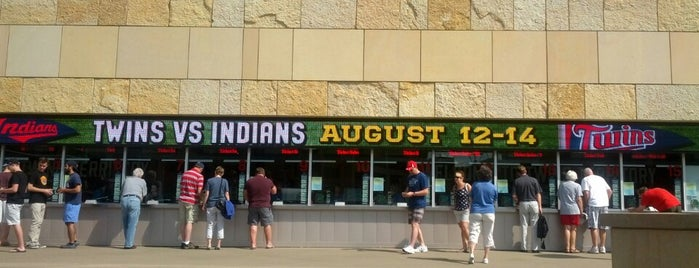 Target Field Ticket Office is one of Orte, die Brooke gefallen.