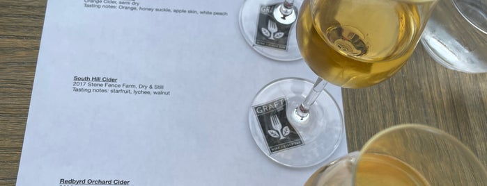 Graft Wine + Cider Bar is one of Upstate NY 2017.