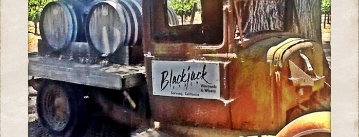 Blackjack Ranch Vineyard & Winery is one of Santa Barbara County.